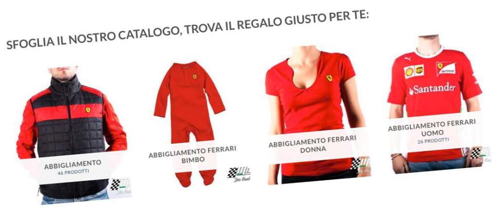 Negozio Ferrari - Abbigliamento Orologi Accessori   Motorsport ...